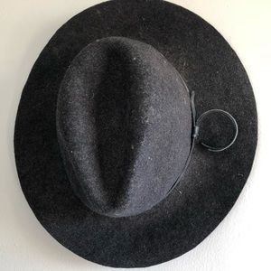 bc9f47fa19a Anthropologie wool hat by Renee s NYC (charcoal)